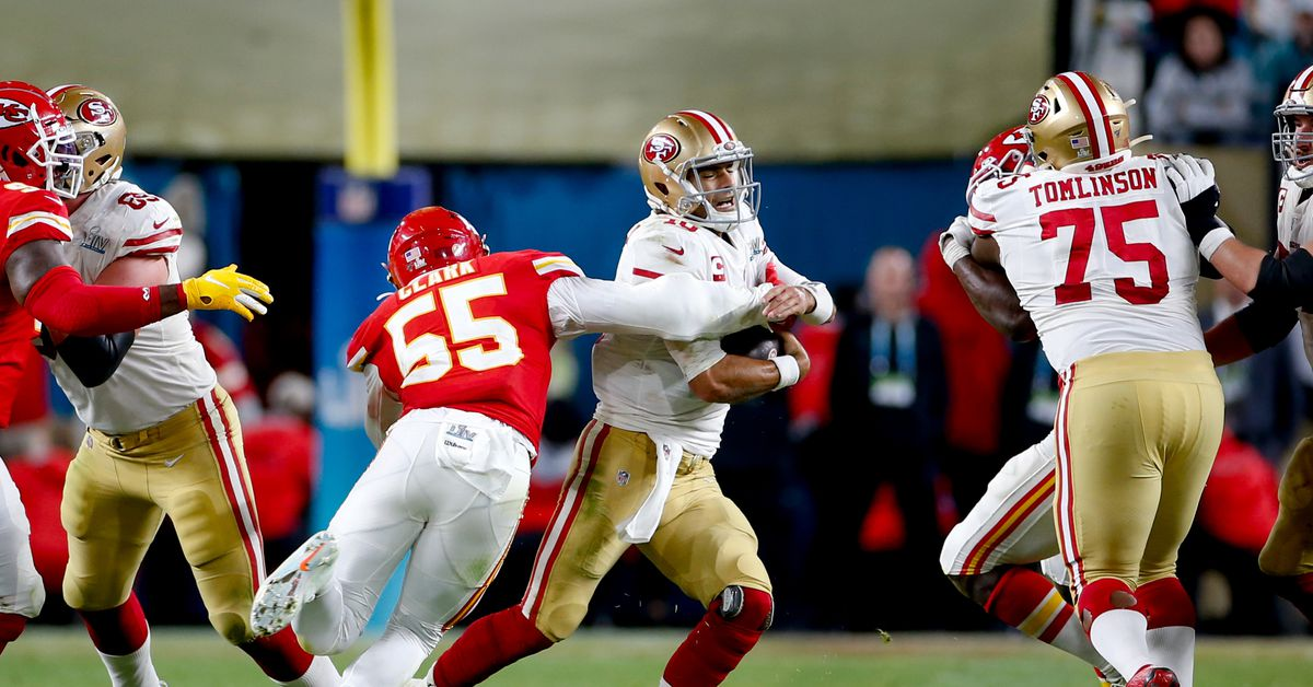 Before the 49ers to take the next step (win the Super Bowl), Jimmy G needs to do so first