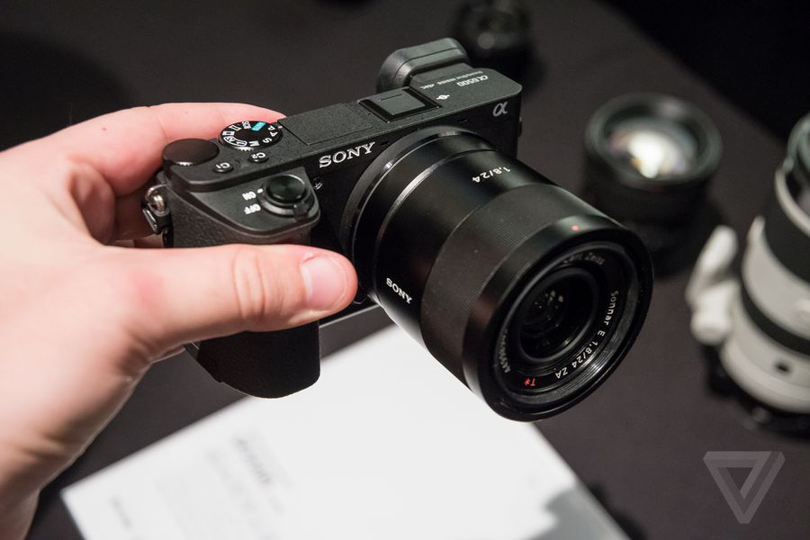 Sony a6500 in photos the verge for Web tv camera