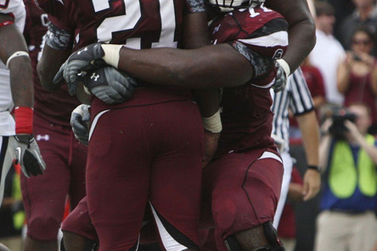 -The best tackle Marcus Lattimore saw all day.