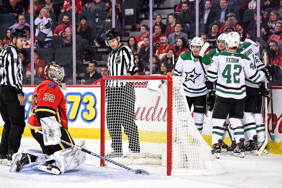 NHL: NOV 13 Stars at Flames