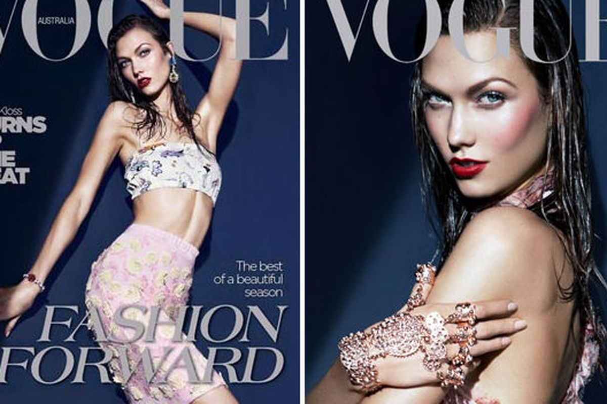 Karlie Kloss, the international Vogue favorite in 2012