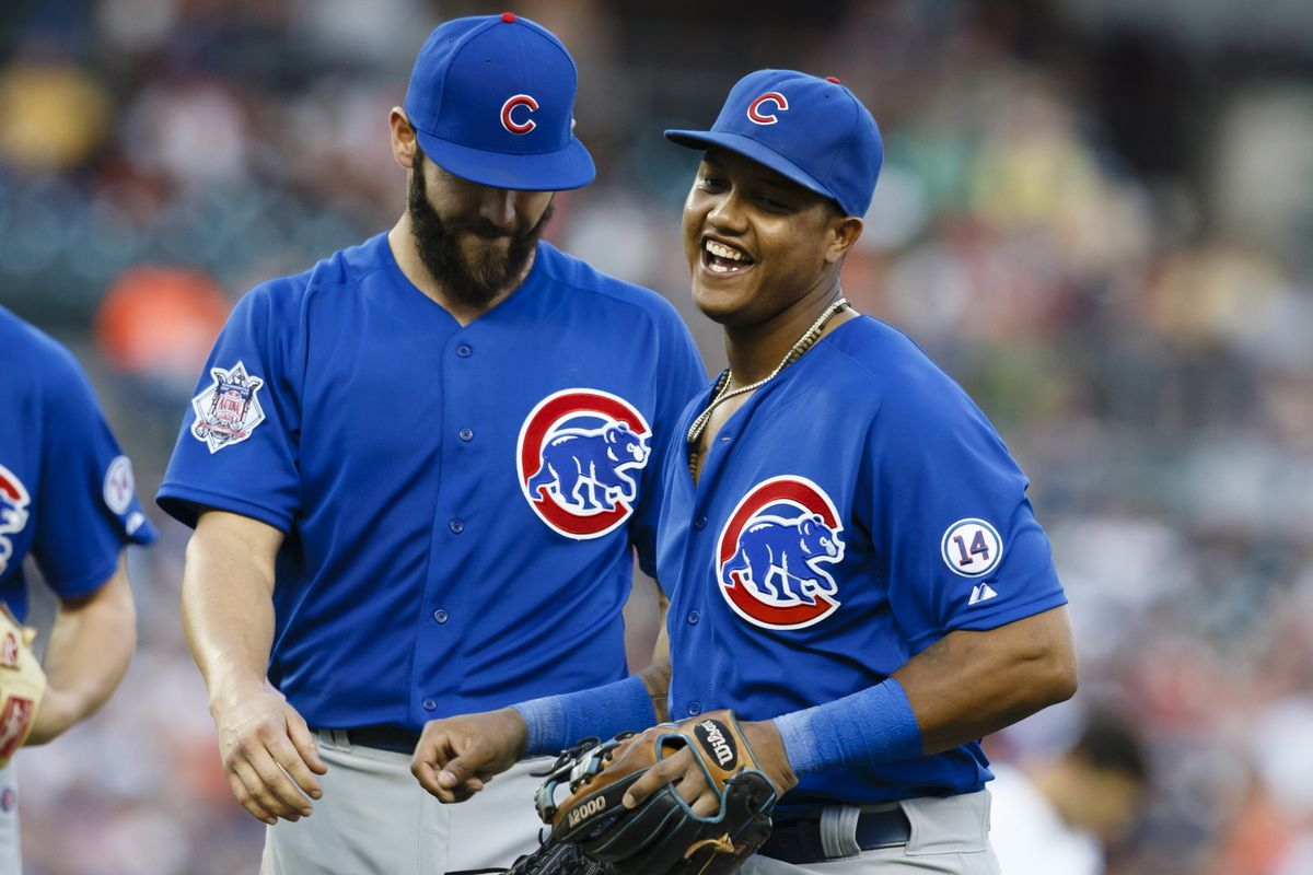 What are Jake and Starlin laughing about? Write your own caption