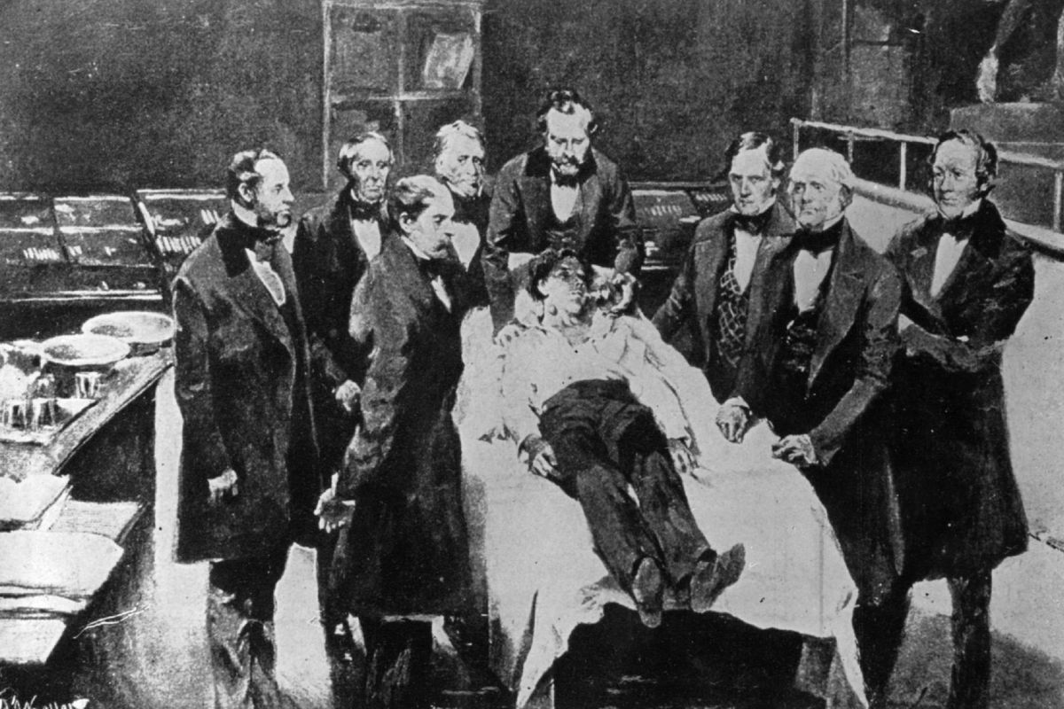 First Anaesthetic
