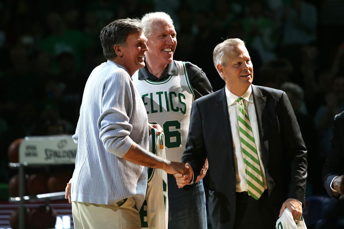 Kevin McHale talks about Danny Ainge and the Celtics CelticsBlog