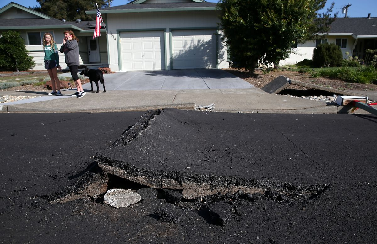 Napa Area Businesses Continue Recovery Effort From Earthquake