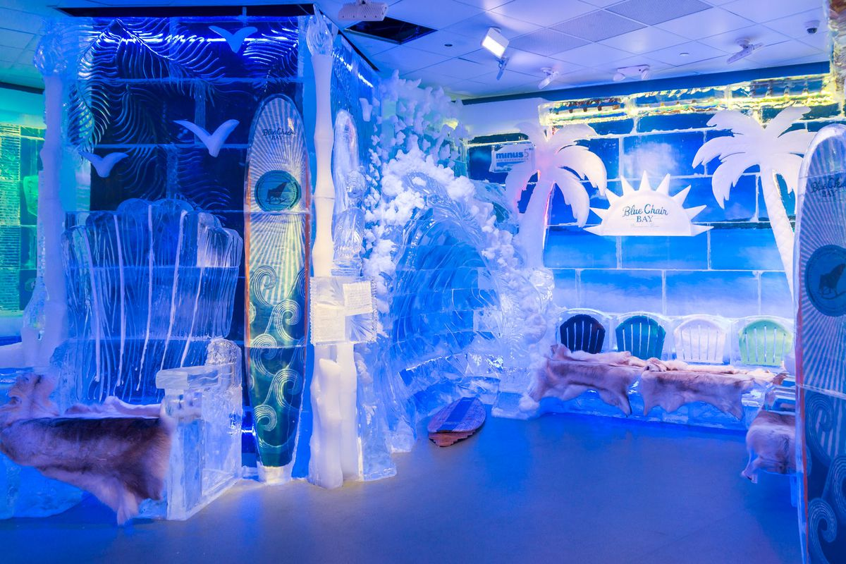 Minus5 Ice Experience at the Grand Canal Shoppes