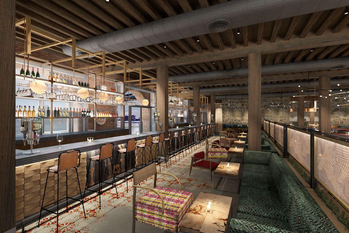 Sugarcane NYC rendering