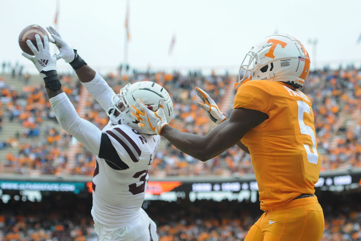 NCAA Football: Mississippi State at Tennessee