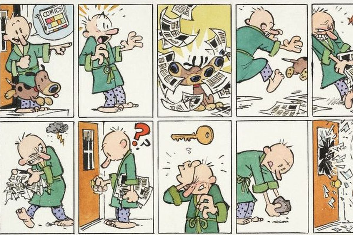 Calvin And Hobbes Comic Strip Porn - The notoriously reclusive Calvin and Hobbes creator Bill Watterson has been  surprisingly public this year — he's already drawn the poster for comic  strip ...