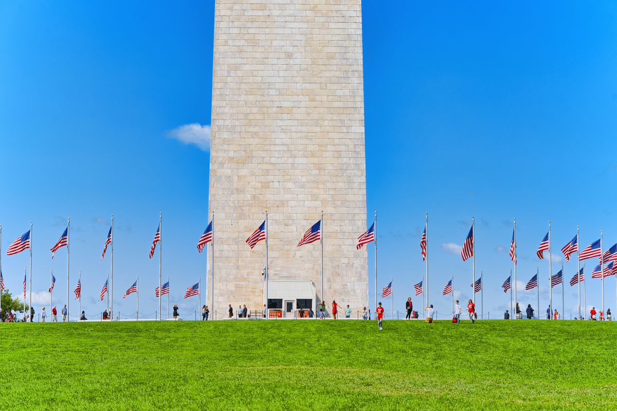 The Washington Monument Opens To