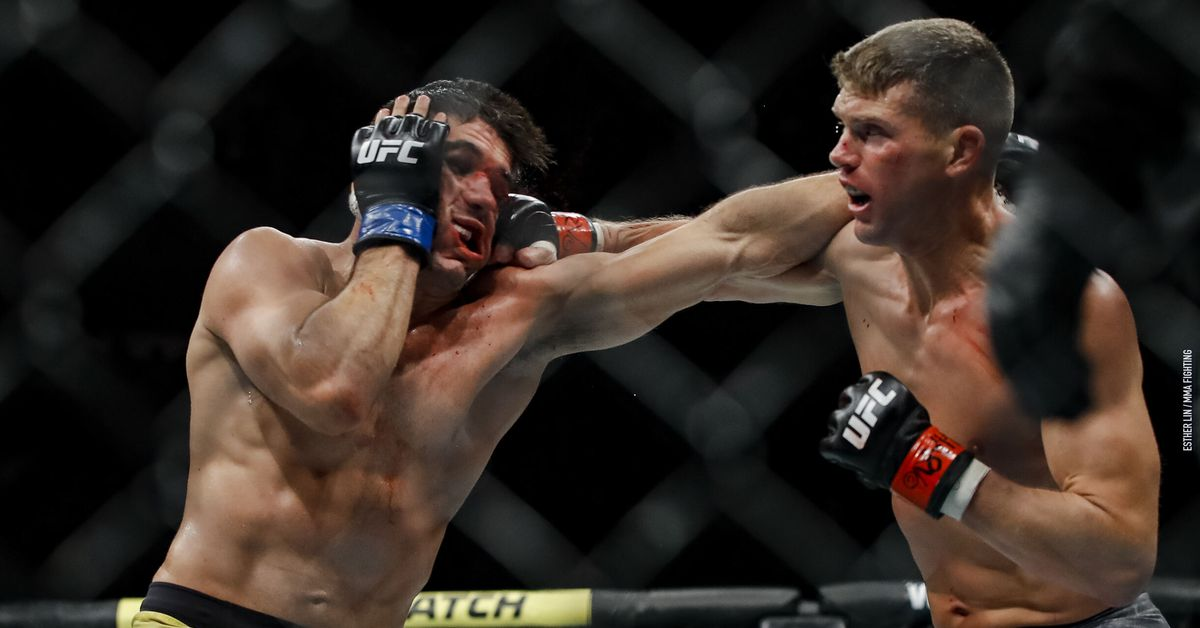 Stephen 'Wonderboy' Thompson won't need surgery on broken hands from UFC 244