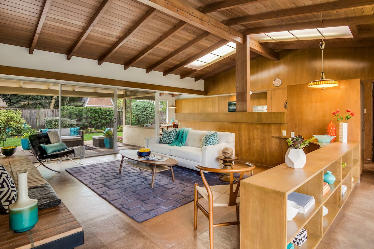 Long Beach Midcentury House For Sale For 979k Curbed La