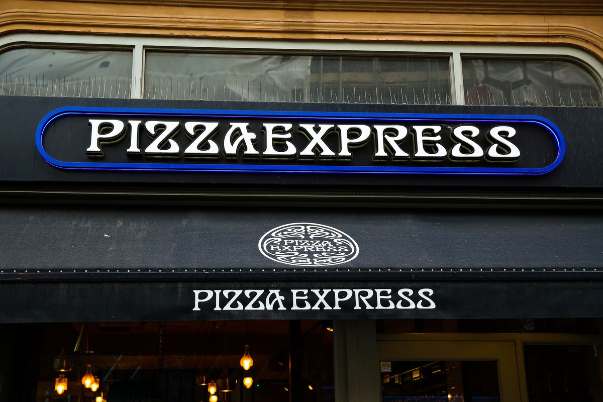 A branch of pizza chain Pizza Express in central London.