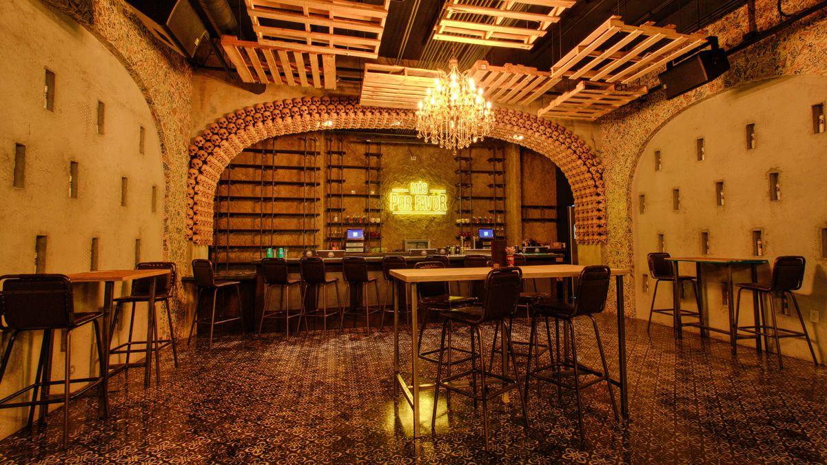 The secret bar at Más Por Favor Taqueria y Tequila