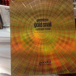 Gold Snail masks from Goodal at three for $50