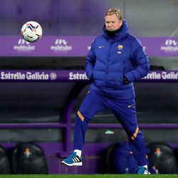 Koeman gets in on the action