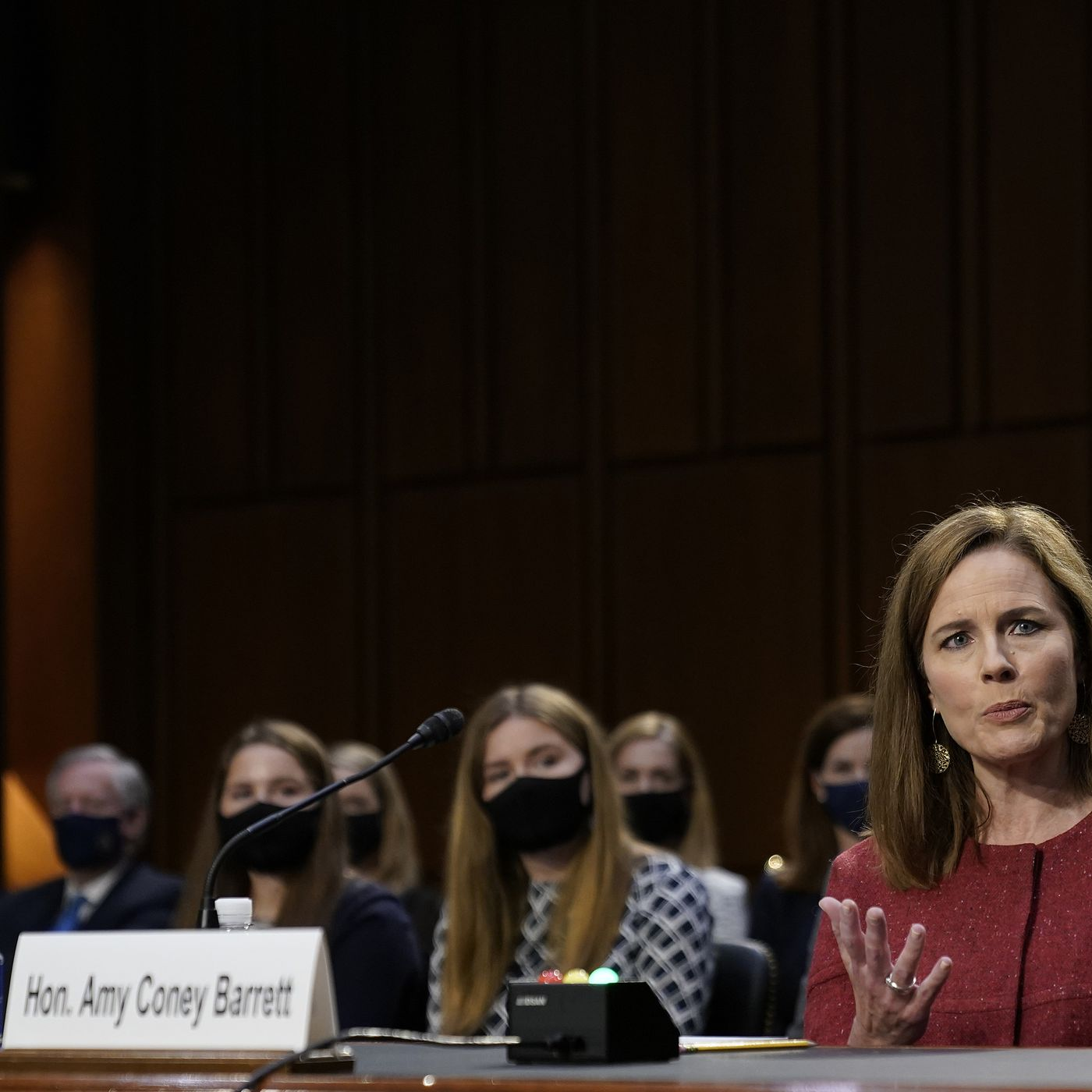 Why Republicans Keep Talking About Amy Coney Barrett S 7 Kids Vox