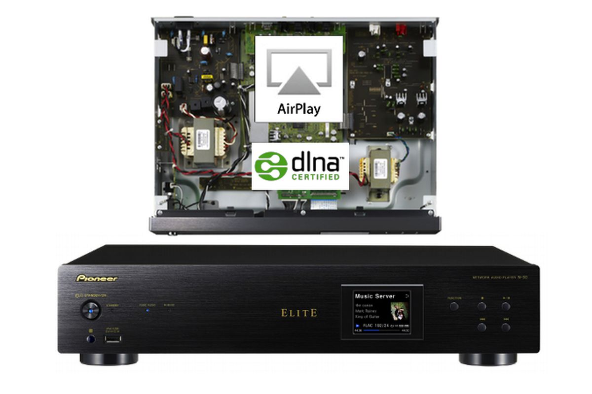 Pioneer N-50 and N-30 networked audio players bring AirPlay and DLNA