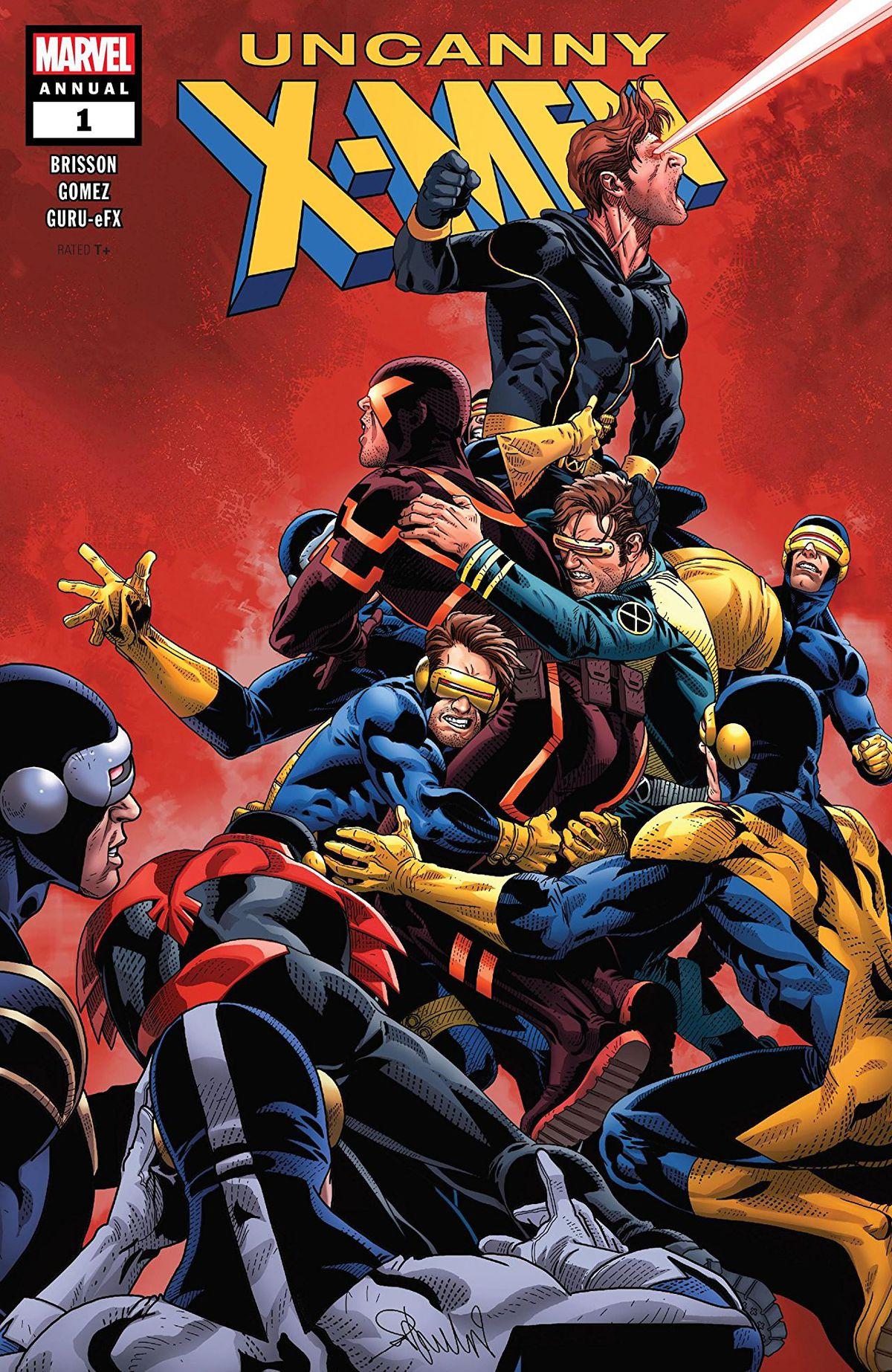 Marvel的X-Men Disassembled活动刚刚取名