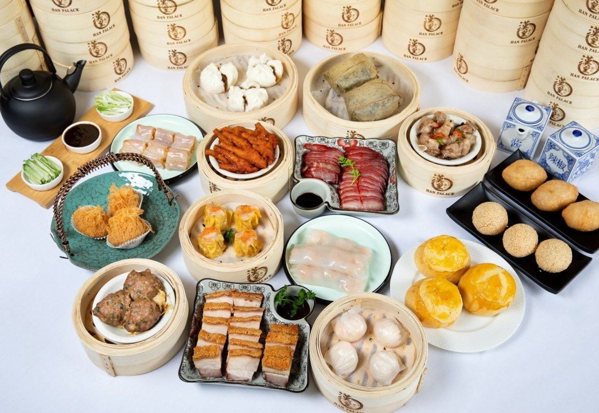 Dim sum from Han Palace