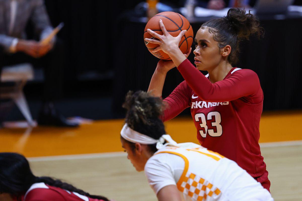 NCAA Womens Basketball: Arkansas at Tennessee