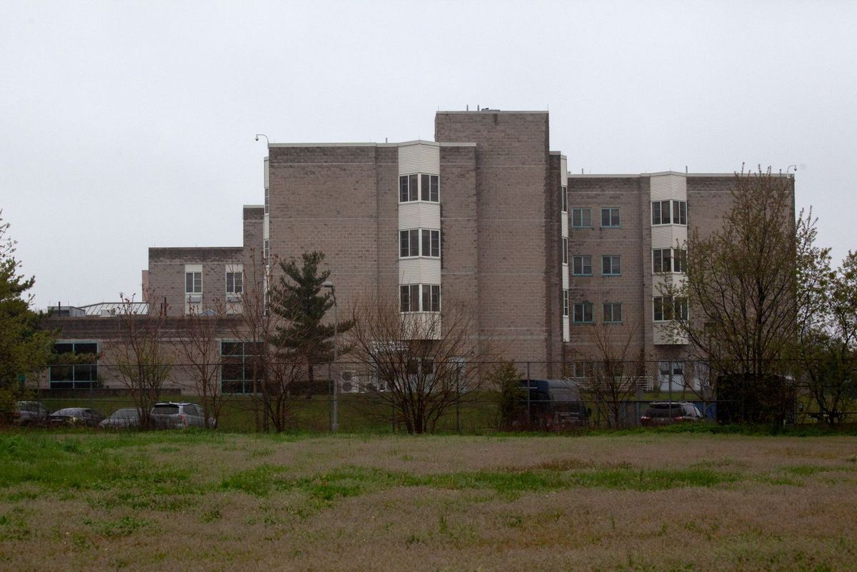 The New York State Veterans' Home in St Albans, Queens.
