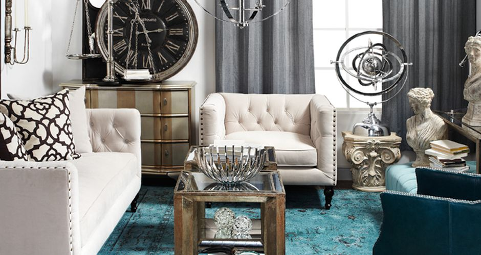 Though The Home Decor Chain Is Known For Its Selection Of Mirrored Furniture Also A Gold Mine Accessories Pillows Placemats Seasonal Items Z