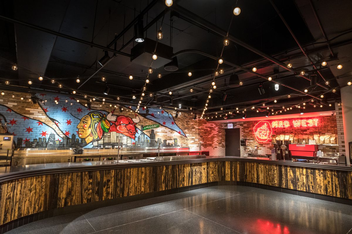 United Center Opens New Restaurant Bar With Dark Matter And