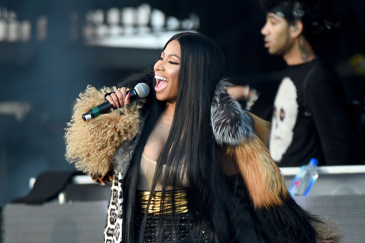 Nicki Minaj performs at the Meadows Music and Arts Festival