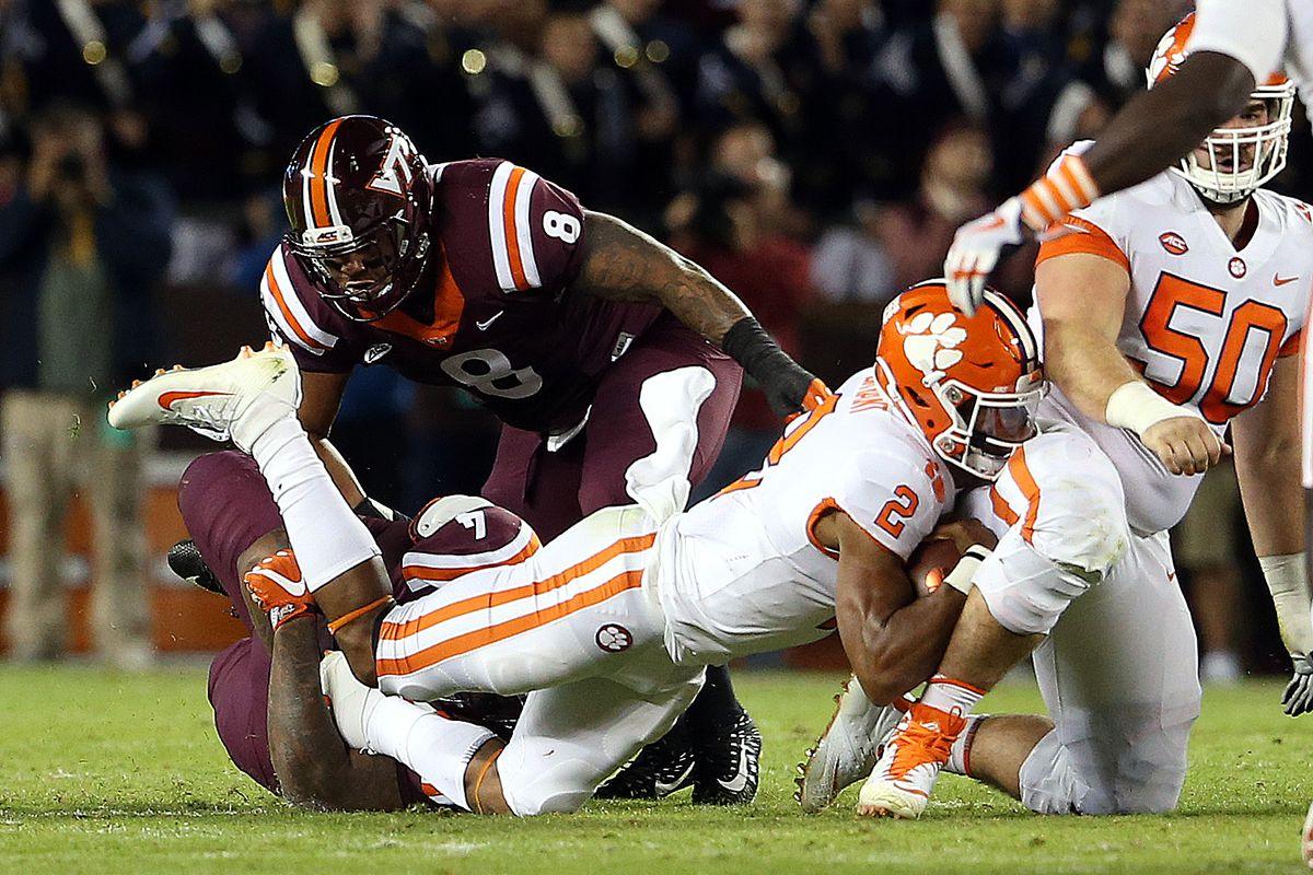 NCAA Football: Clemson at Virginia Tech