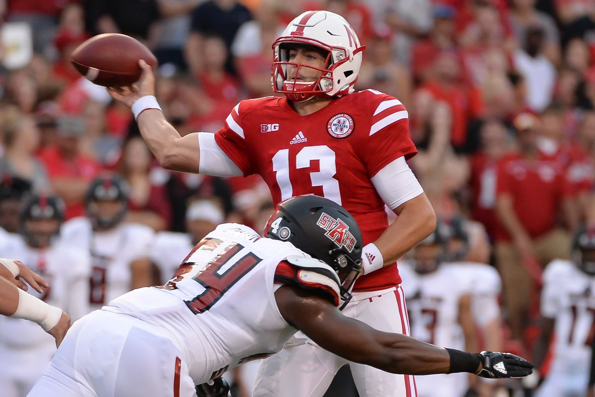 Nebraska QB Tanner Lee.