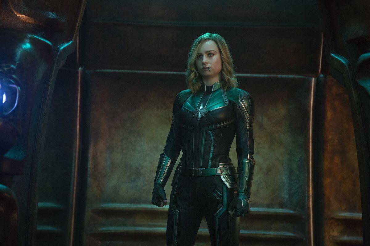 Captain Marvel - Captain Marvel in Kree armor