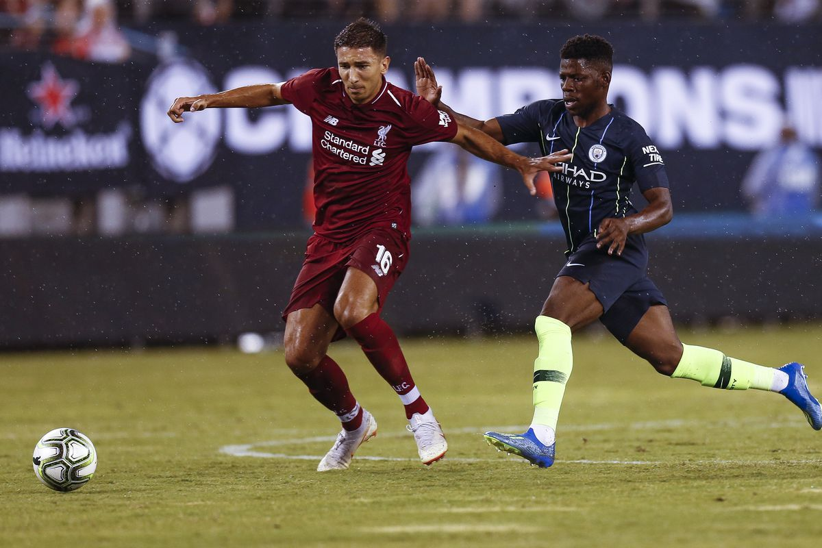 Manchester City v Liverpool - International Champions Cup 2018