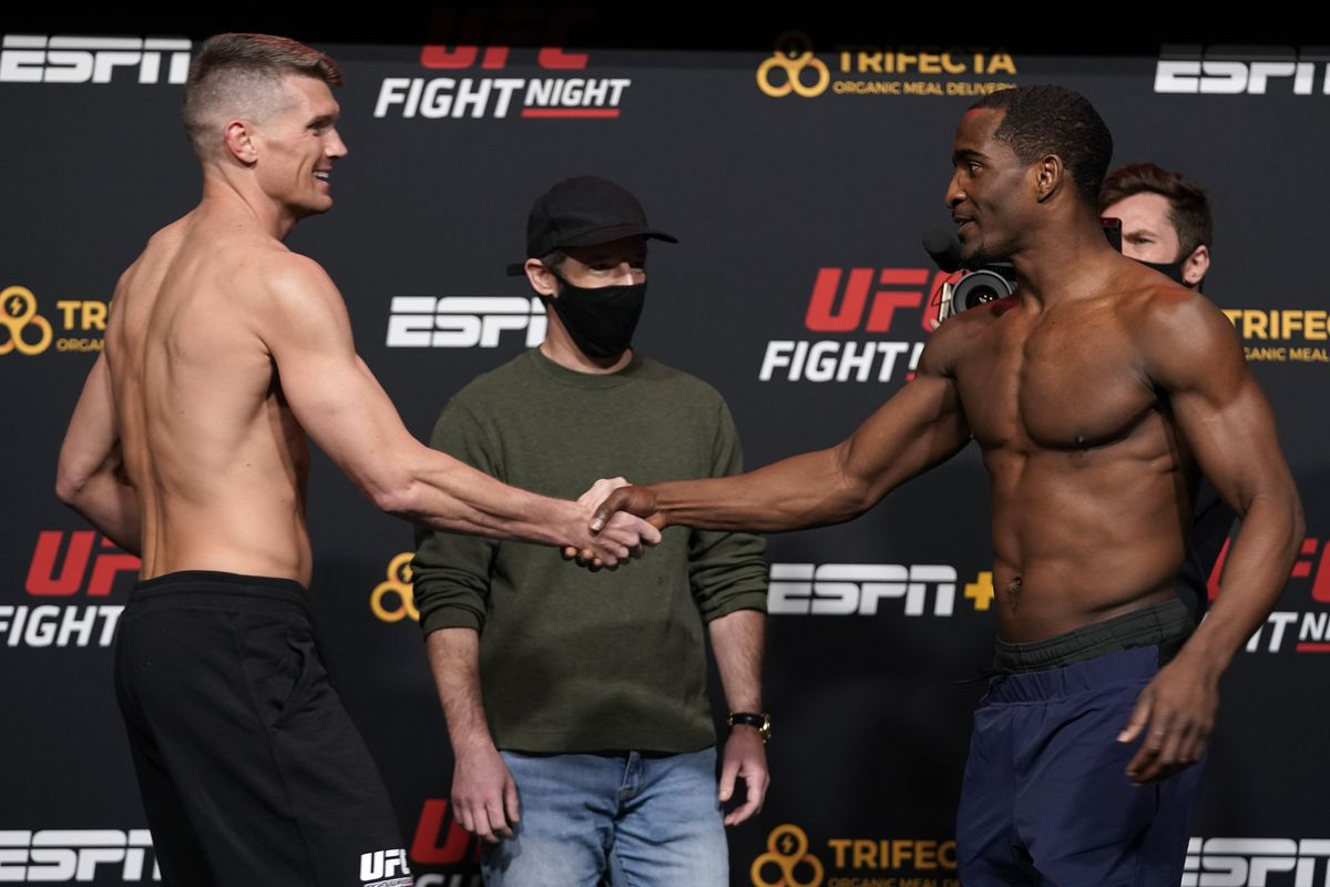 UFC Fight Night Thompson v Neal: Weigh-Ins