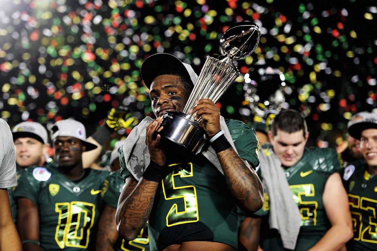 I just like adding pictures of the Rose Bowl celebration.