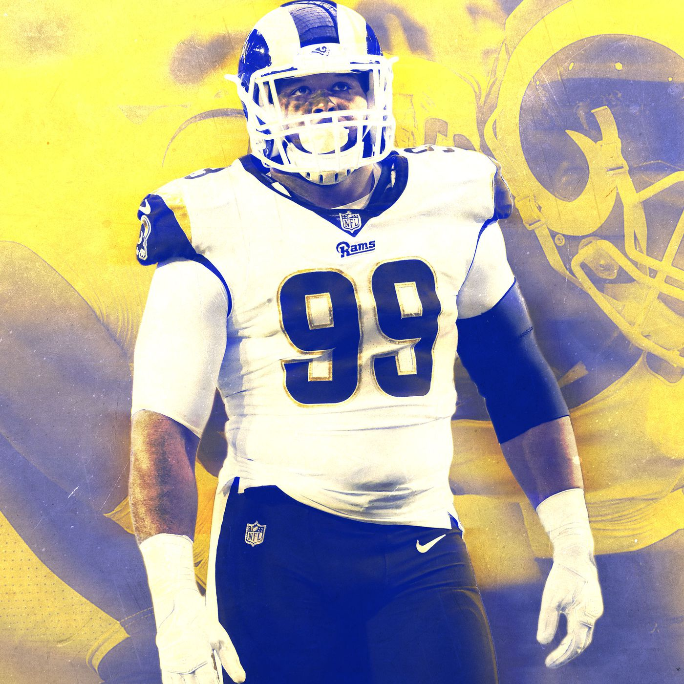 Aaron Donald Destroyed The Seahawks Offense In The Rams 42 7 Win The Ringer
