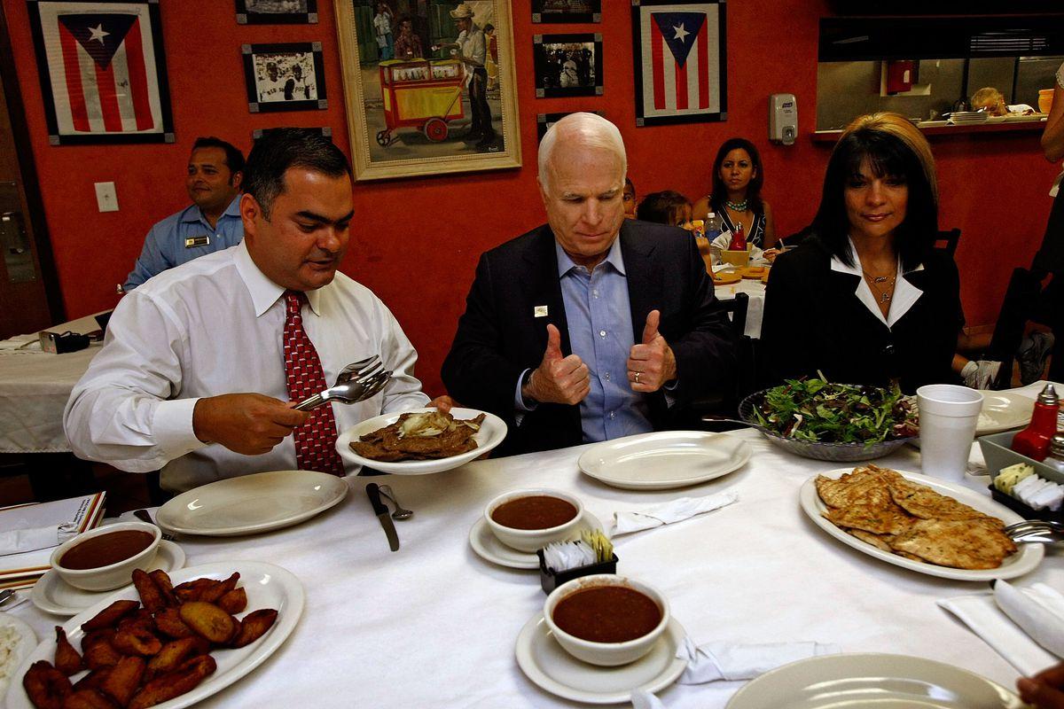 John McCain Latino outreach