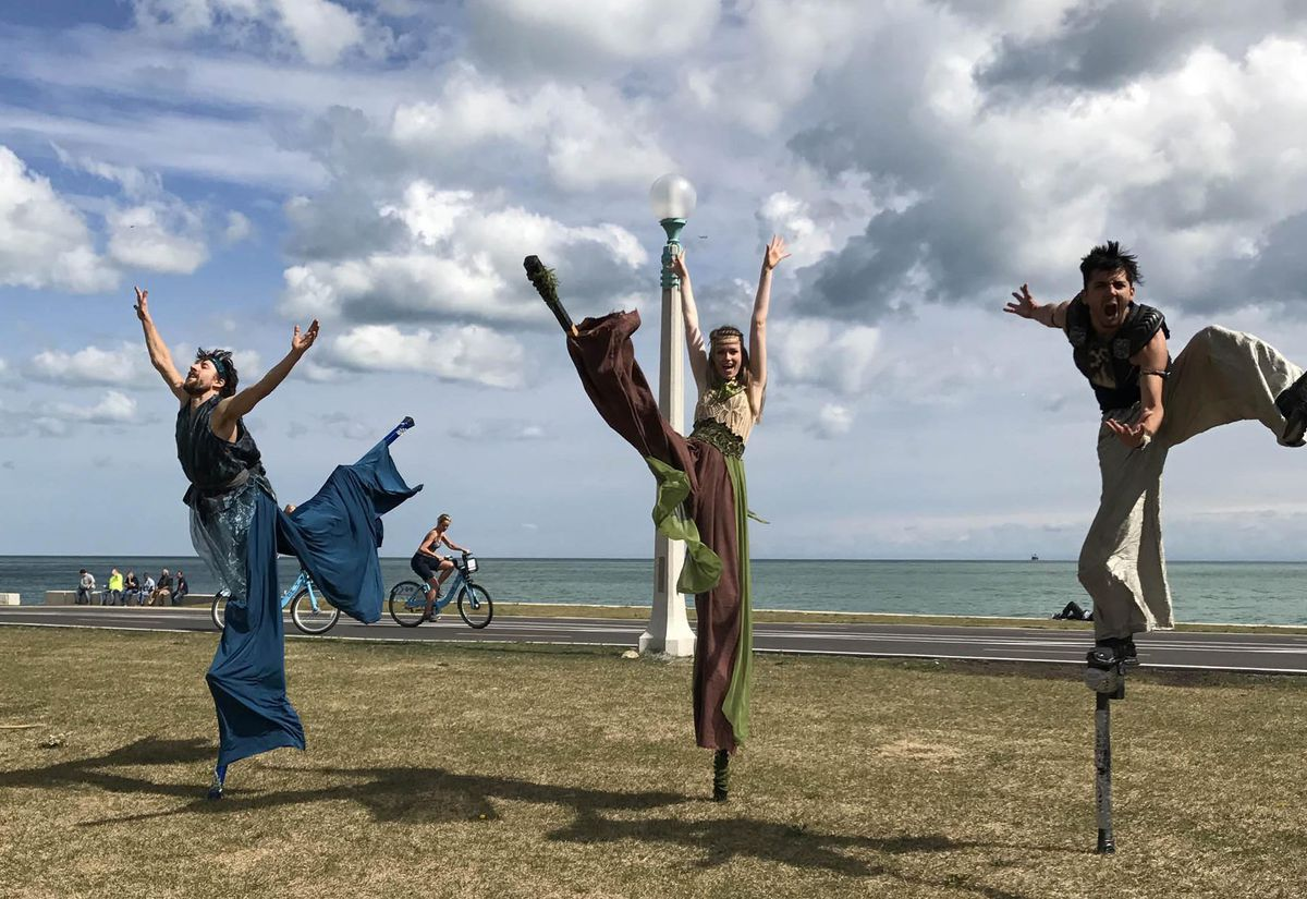 Walkabout Theater will be featured at the 2018 Pivot Arts Festival. | TRIA SMITH