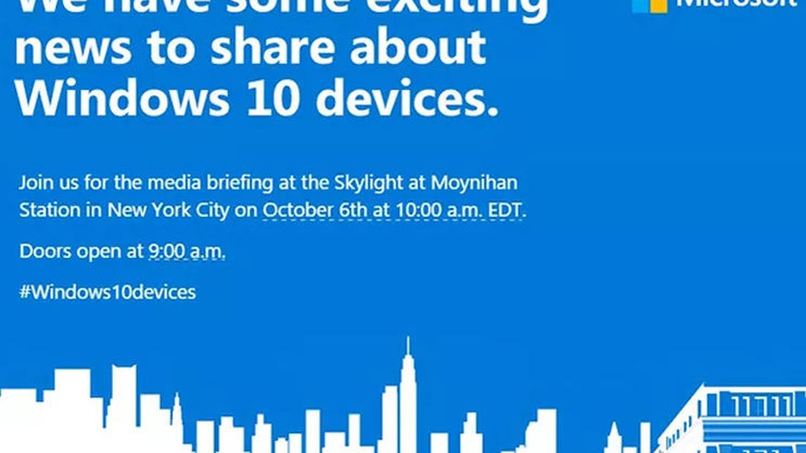 Microsoft to Launch Surface Pro 4, New Phones at October ...