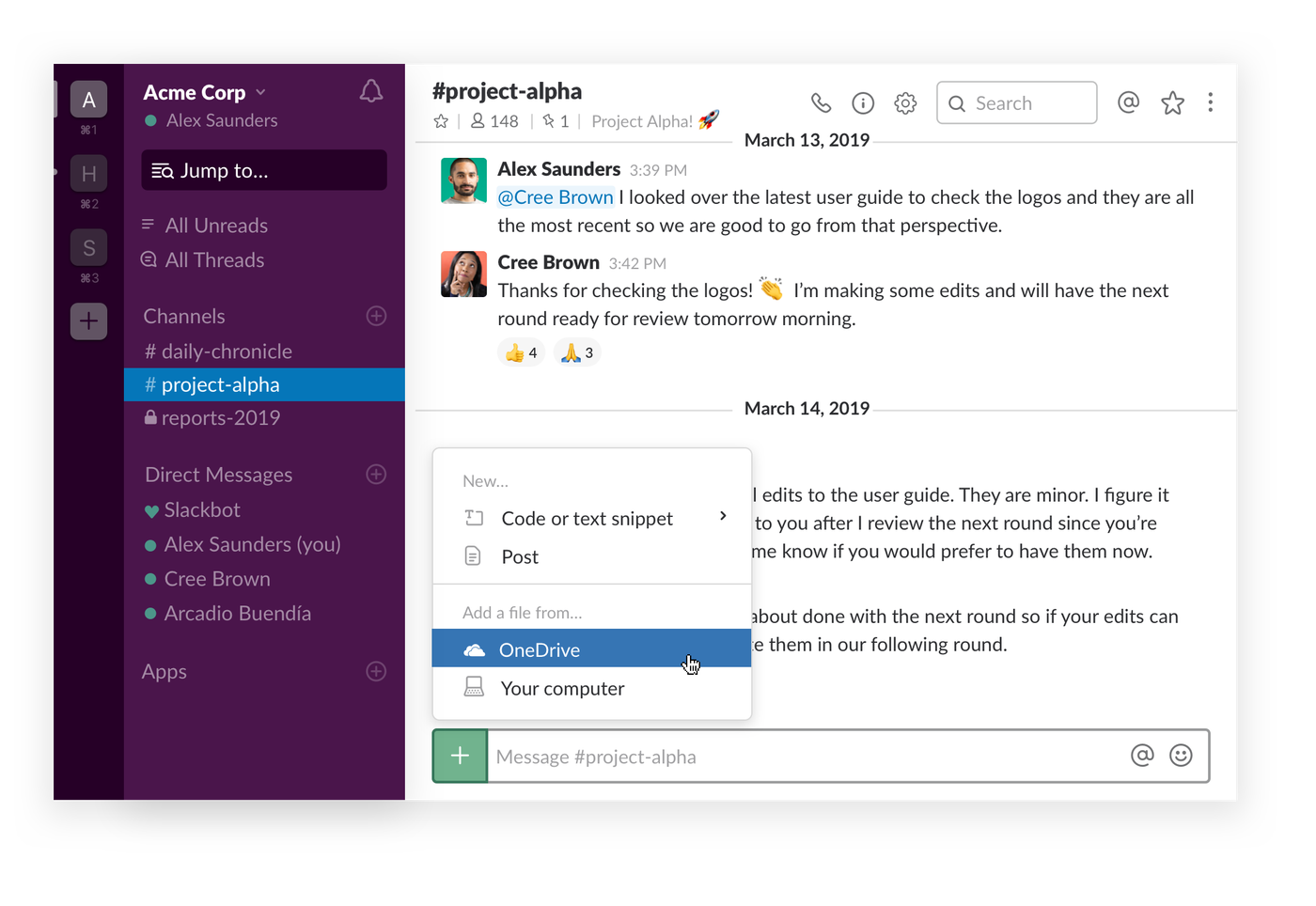 Slack is now easier to use with Microsoft's Office 365 apps - The Verge