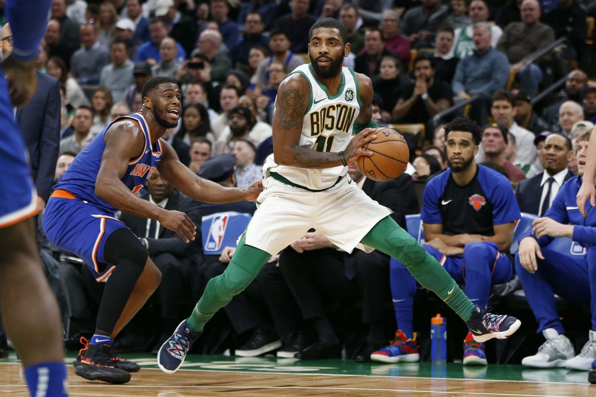 How Kyrie Irving, Boston Celtic, became a hero to Knicks fans