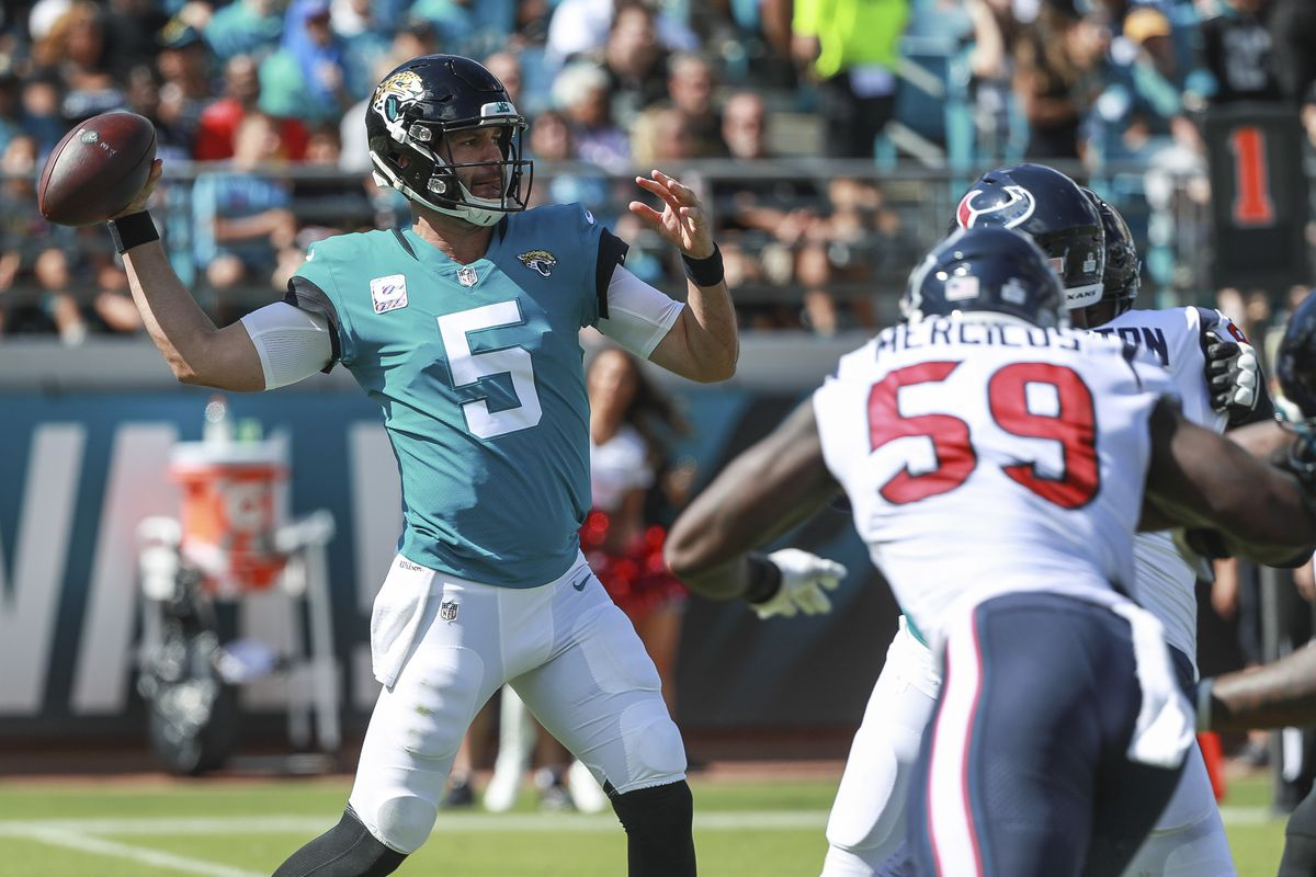 528d9fb31 Jaguars benched Blake Bortles during another disastrous loss