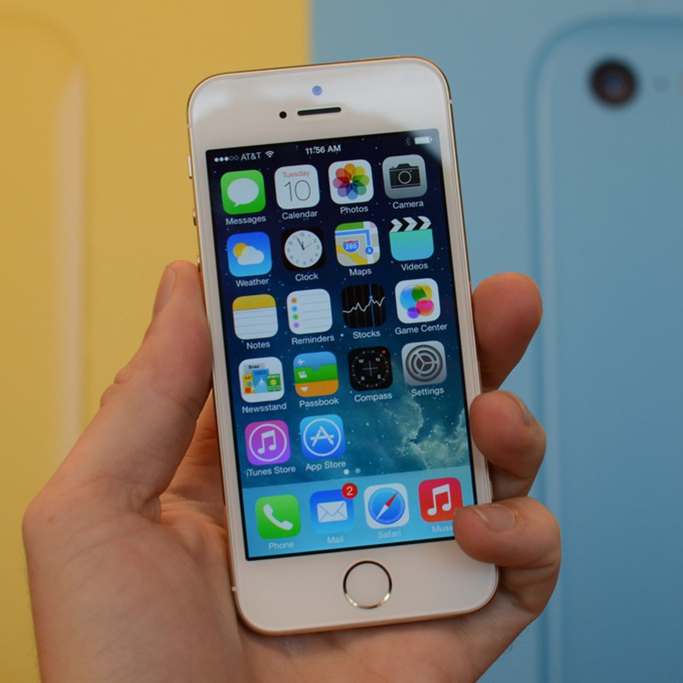 Le Iphone 5s Hands On Video And