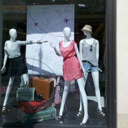 Forever 21 X Rory Beca window display at The Grove