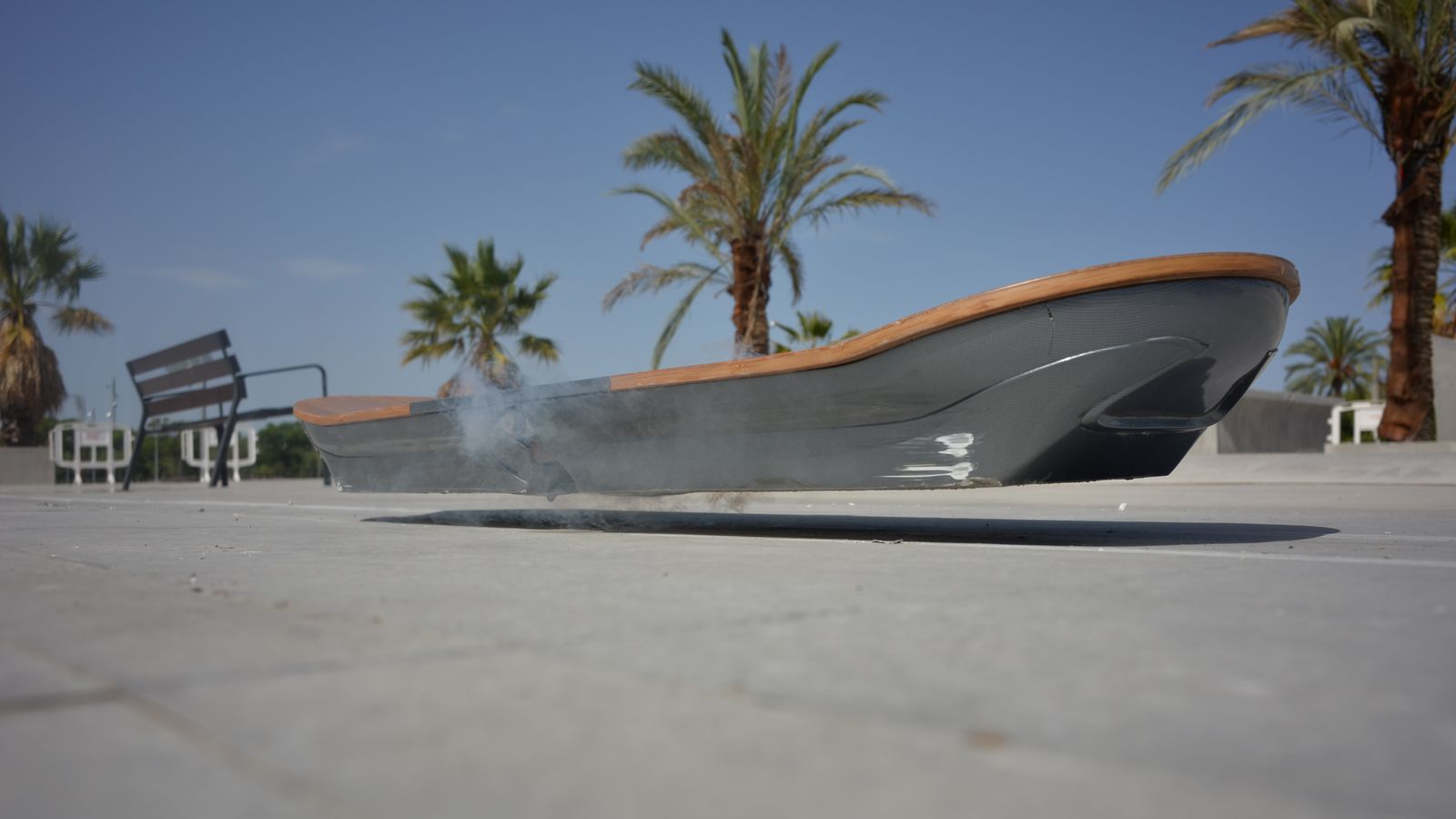 Lexus Hoverboard Price >> I Rode The Lexus Hoverboard At A Skatepark In Spain The Verge