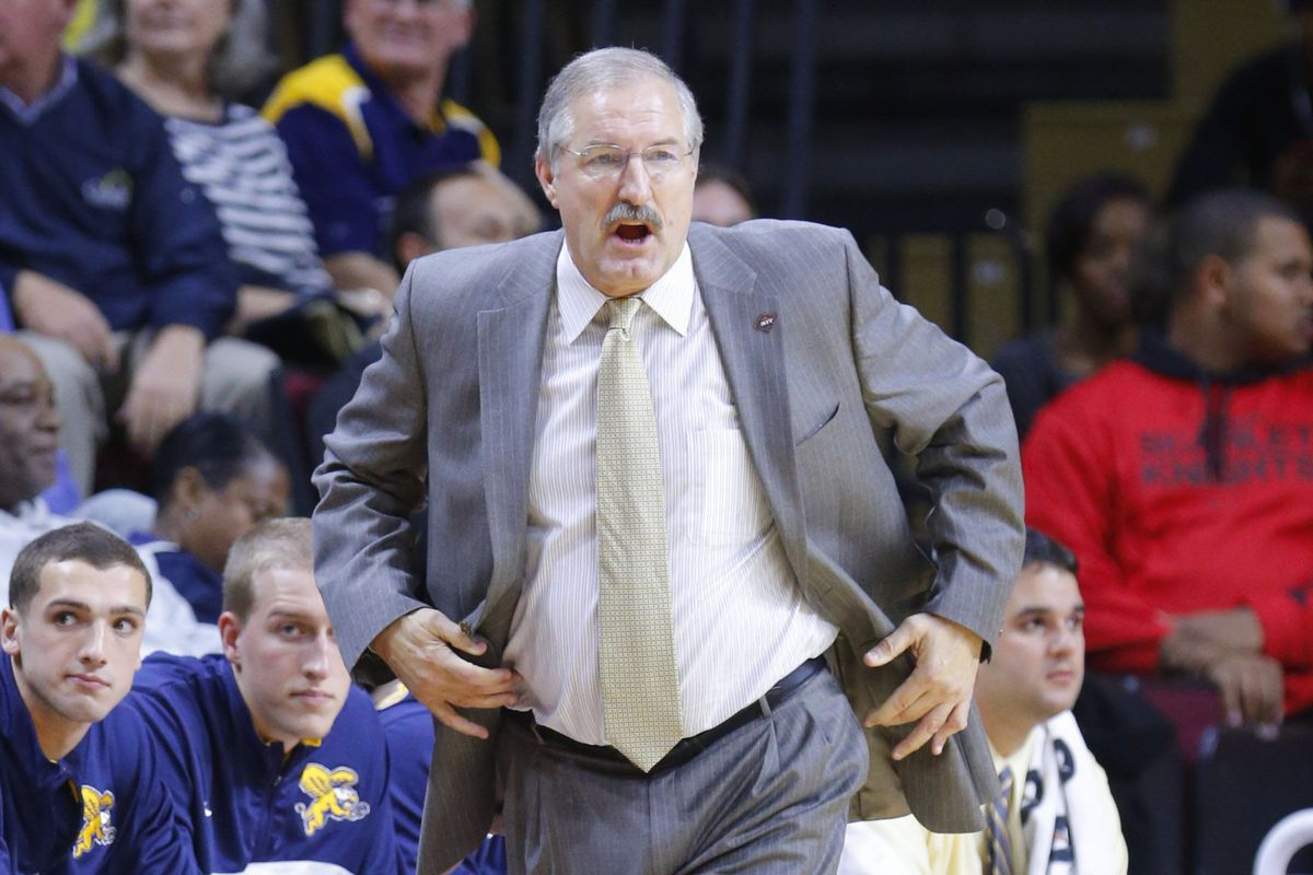 Canisius Head Coach, Jim Baron, is now 4-0 in home openers.