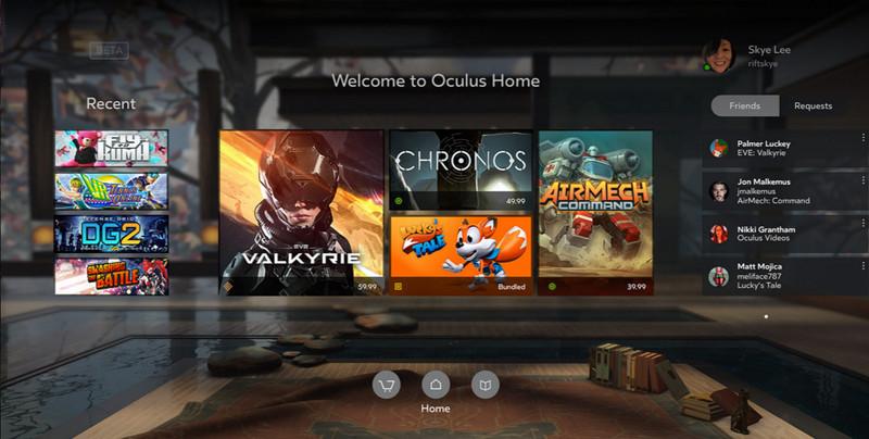 Oculus-Home-Screen