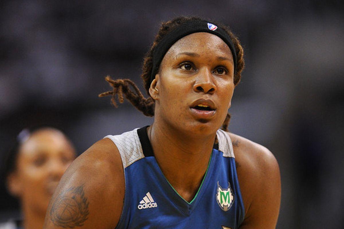 Rebekkah Brunson is a two-time WNBA champion and four-time Finals participant (Monarchs and Lynx)