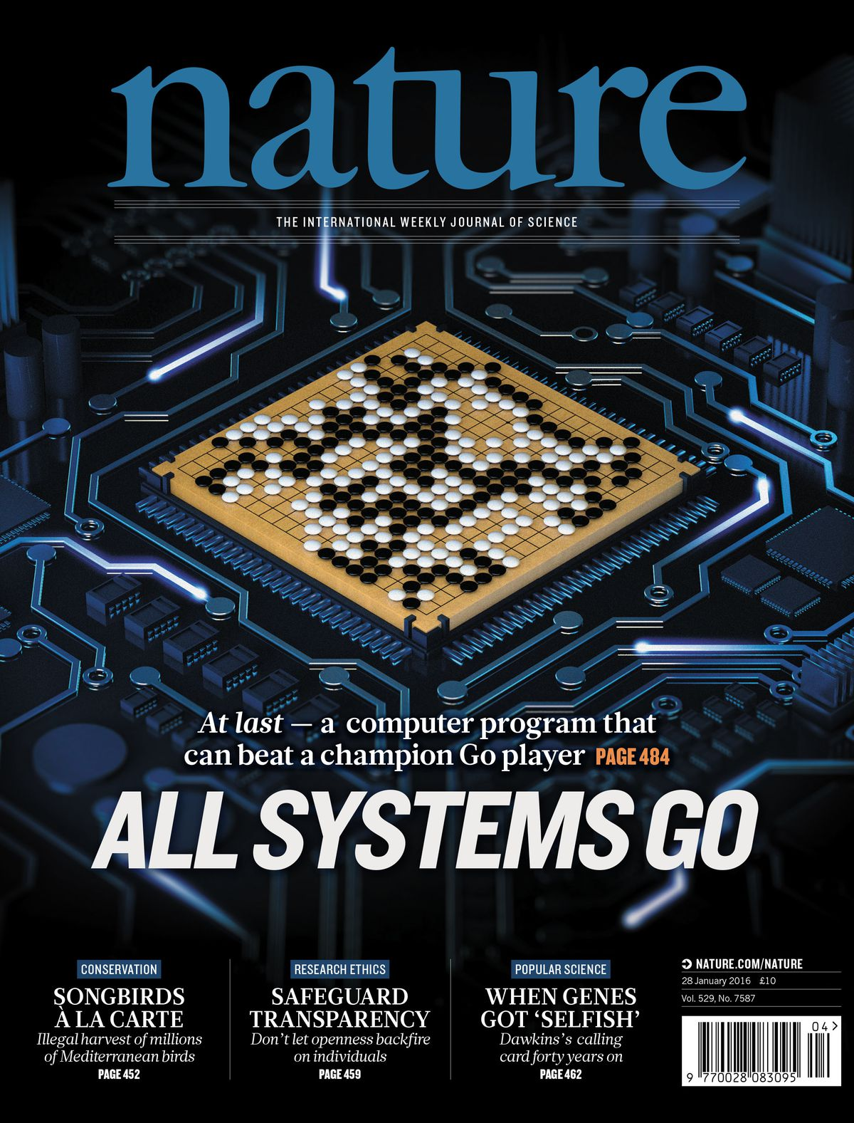 January 28 cover of Nature