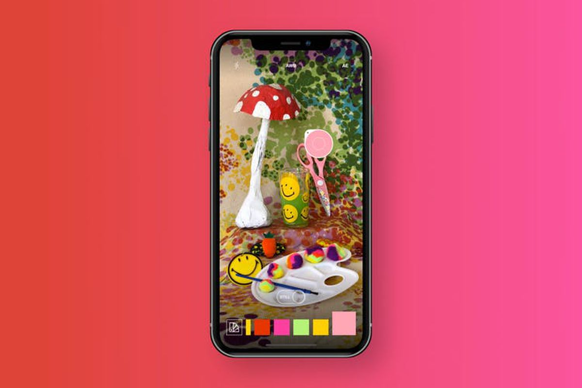Swatches app identifies the colors of whatever your phone camera ...